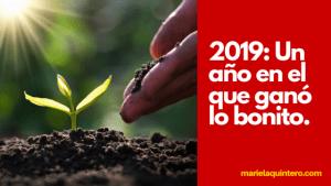 2019 el año en el que ganó lo bonito gratitud