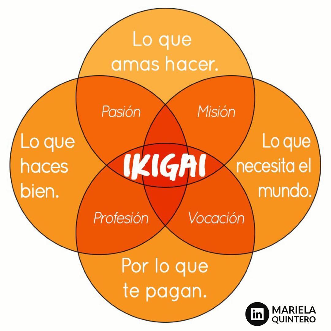ikigai. mariela quintero. personal brand.